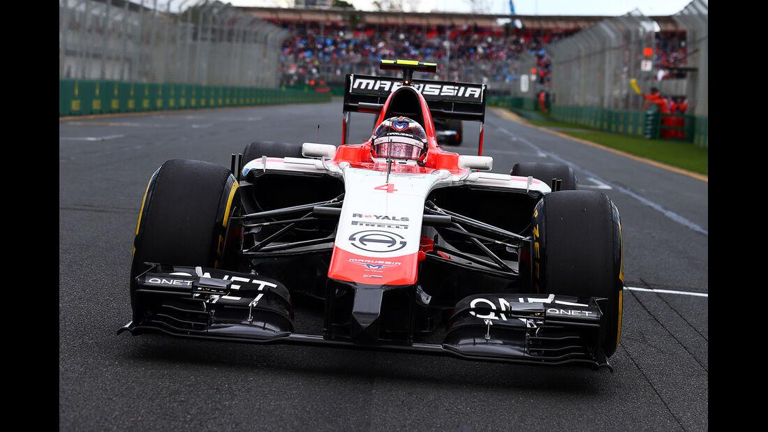 Max Chilton - GP Australien 2014