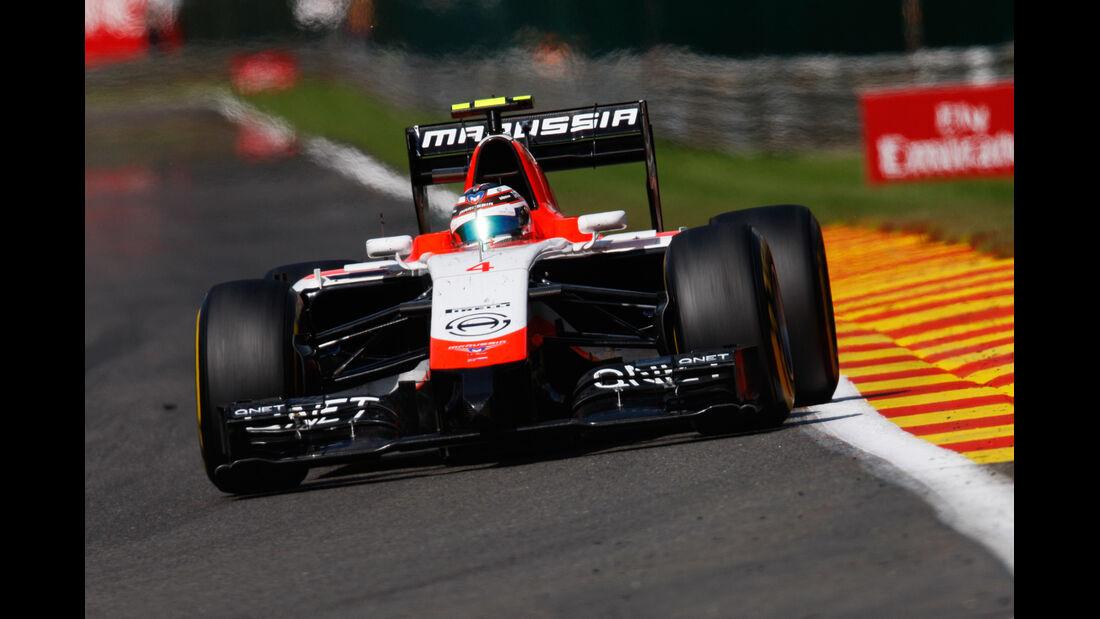 Max Chilton - GP Belgien 2014