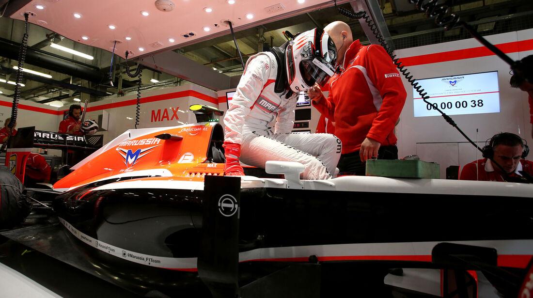 Max Chilton - GP China 2014