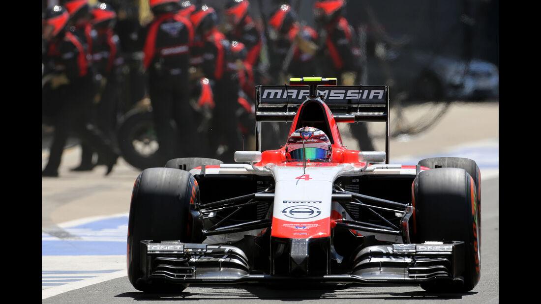Max Chilton - GP England 2014
