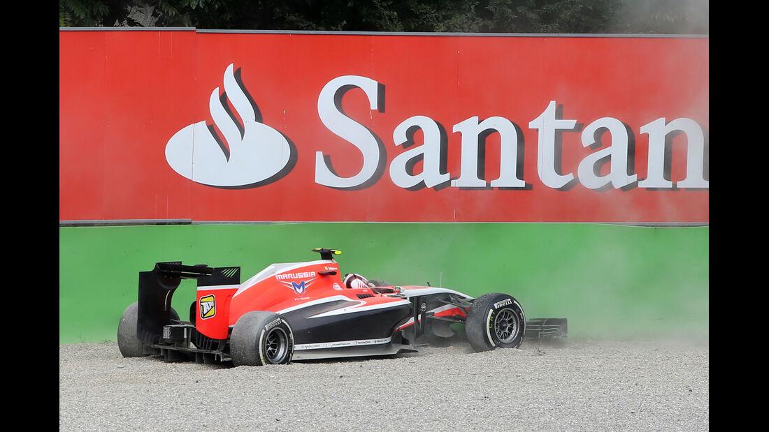 Max Chilton - GP Italien 2014