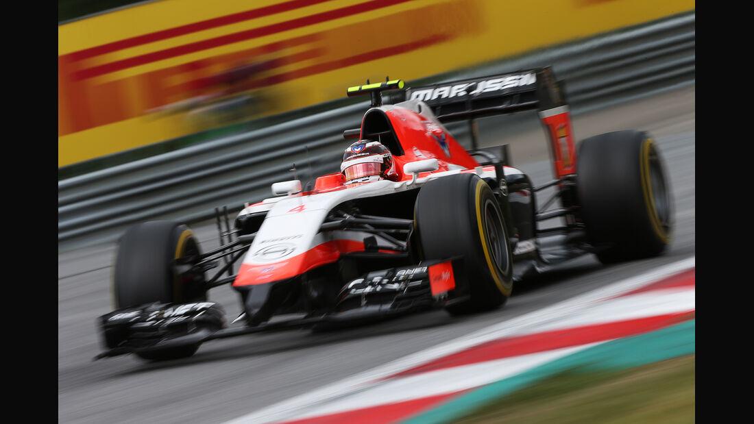 Max Chilton - GP Österreich 2014