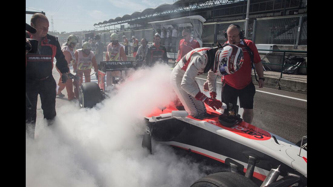 Max Chilton - GP Ungarn 2014 - Danis Bilderkiste