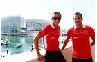 Max Chilton - Jules Bianchi - Marussia  - Formel 1 - GP Abu Dhabi - 31. Oktober 2013