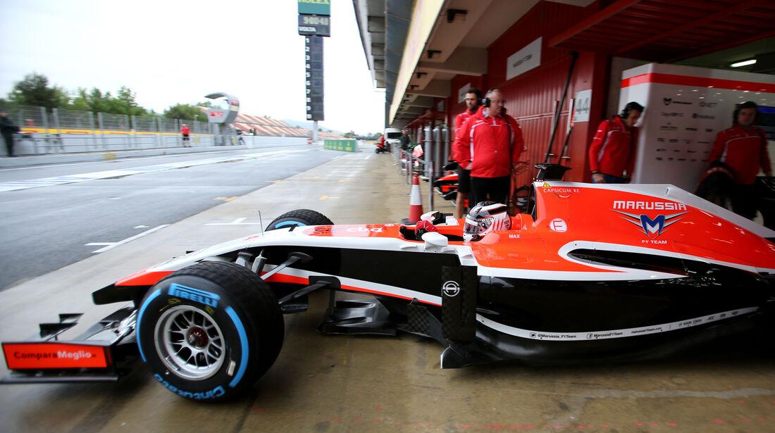 Max Chilton - Marussia - F1 Test Barcelona (1) - 13. Mai 2014