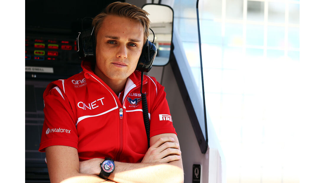 Max Chilton - Marussia - Formel 1 - Bahrain - Test - 19.02.2014