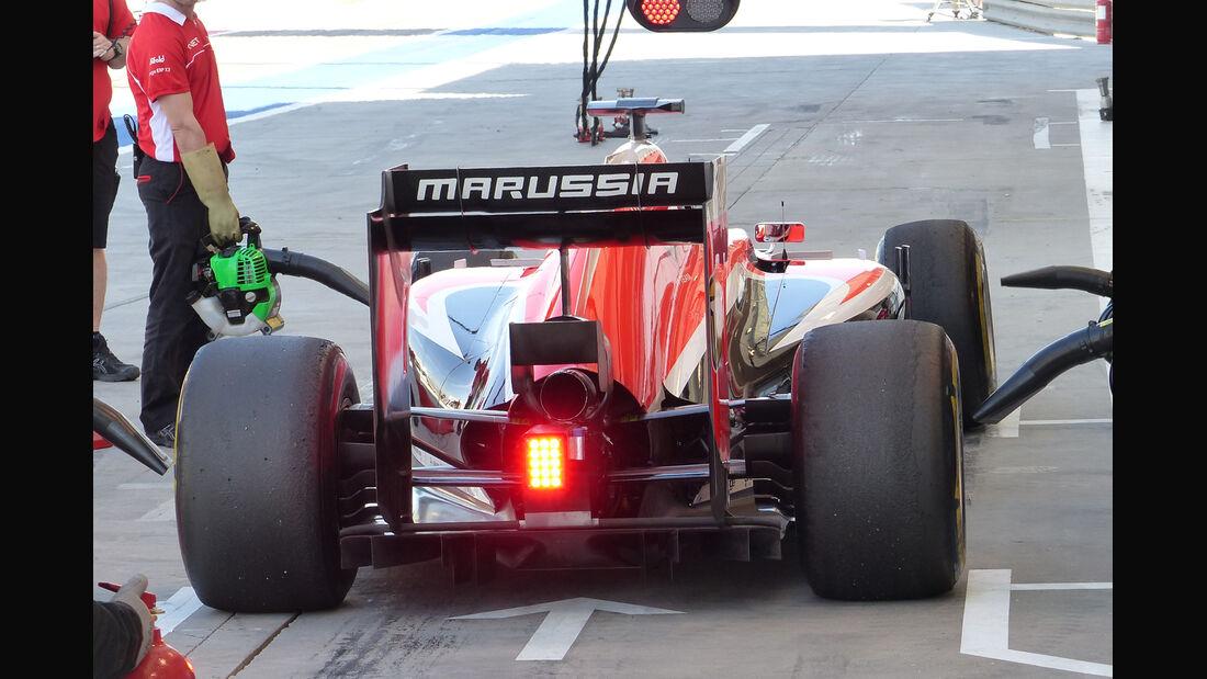 Max Chilton - Marussia - Formel 1 - Bahrain - Test - 2. März 2014