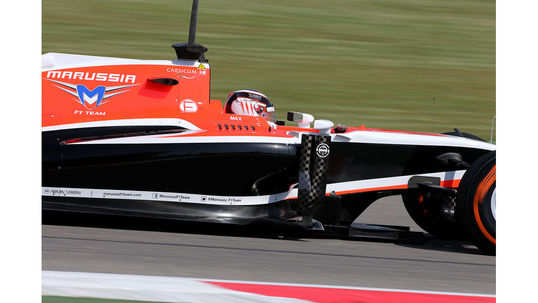 Max Chilton - Marussia - Formel 1 - Bahrain - Test - 20. Februar 2014