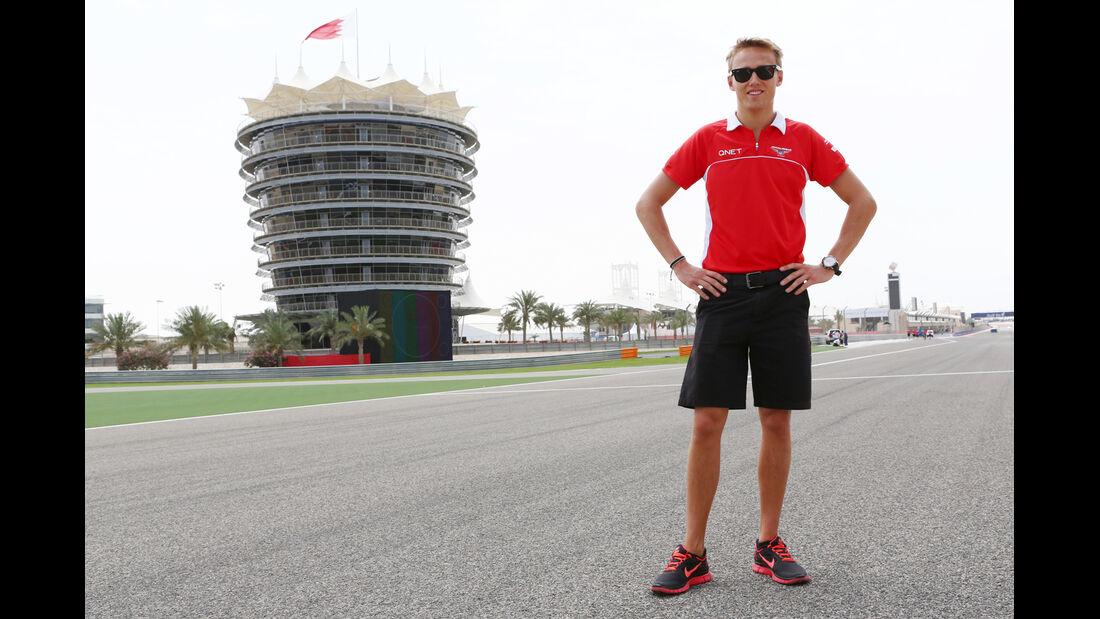 Max Chilton - Marussia - Formel 1 - GP Bahrain - 18. April 2013