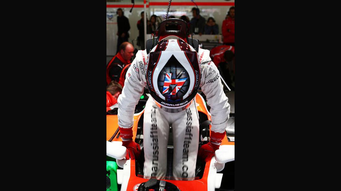 Max Chilton - Marussia - Formel 1 - GP China - Shanghai - 19. April 2014