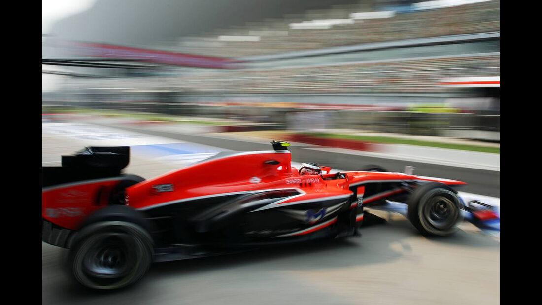 Max Chilton - Marussia  - Formel 1 - GP Indien - 25. Oktober 2013