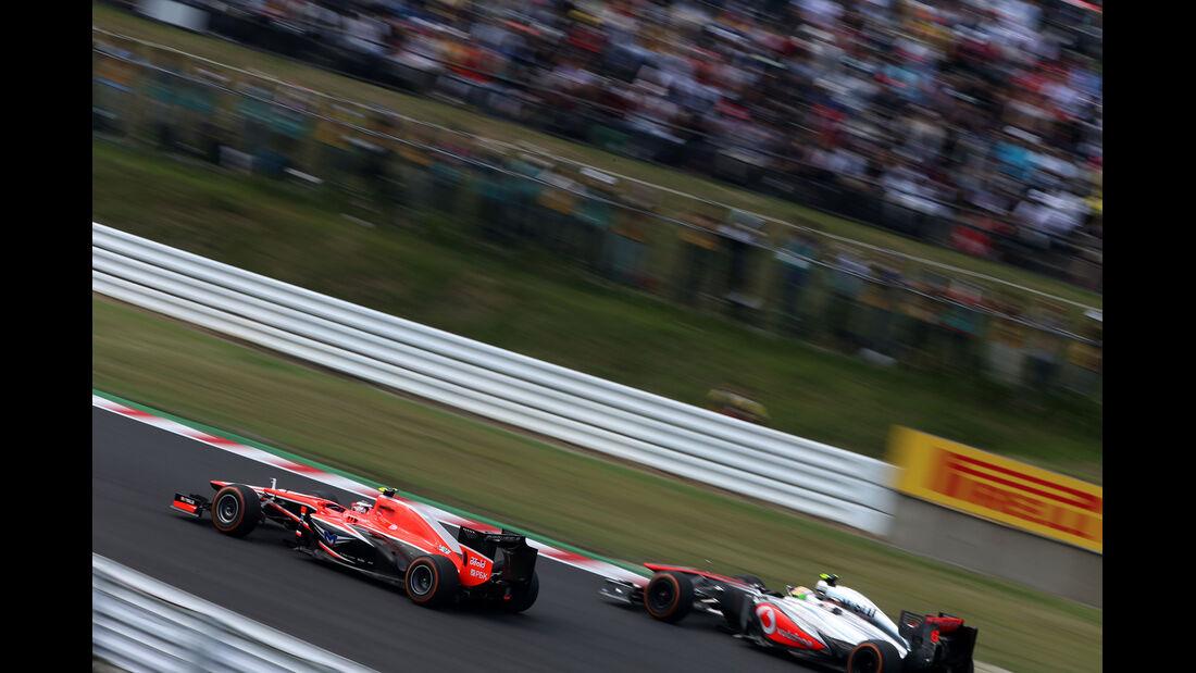 Max Chilton - Marussia - Formel 1 - GP Japan 2013