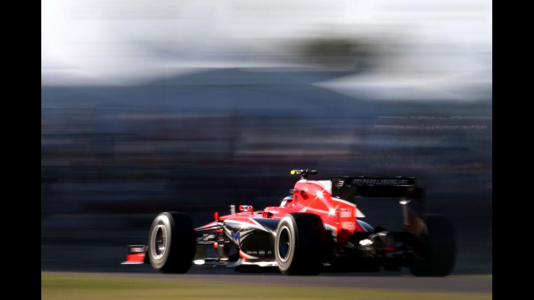 Max Chilton - Marussia - Formel 1 - GP Japan - Suzuka - 11. Oktober 2013