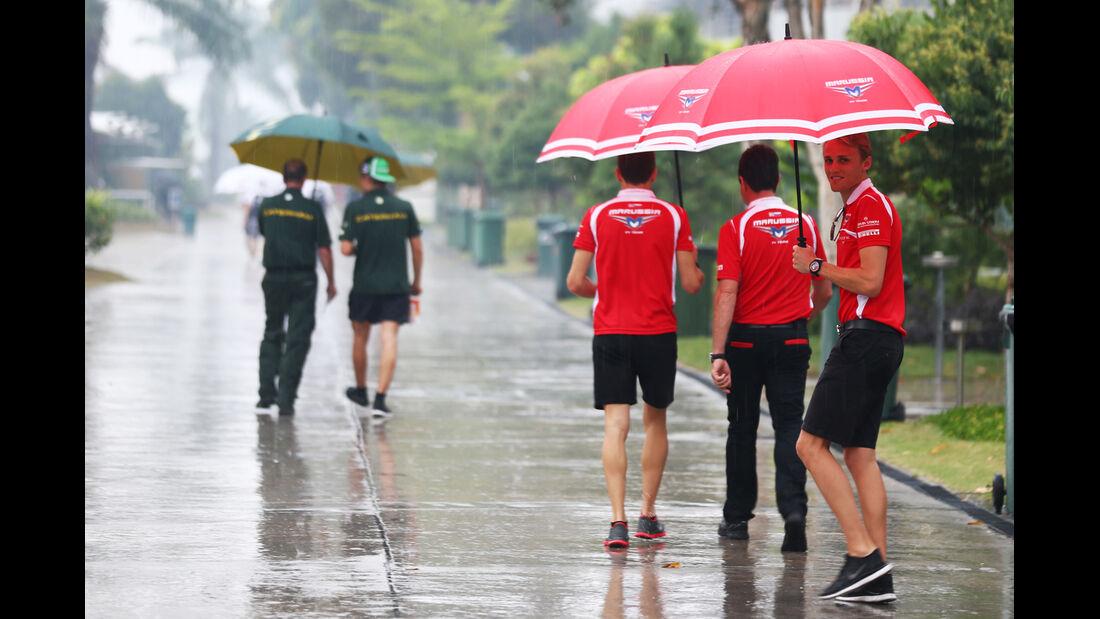Max Chilton - Marussia - Formel 1 - GP Malaysia - 28. März 2014