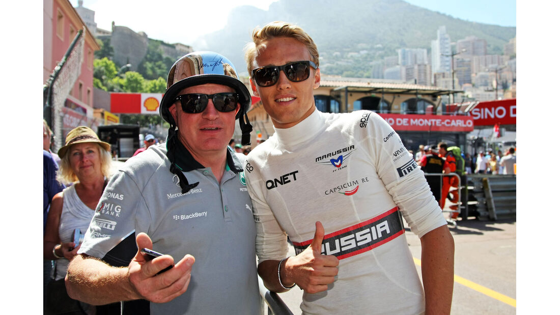 Max Chilton - Marussia - Formel 1 - GP Monaco 2014