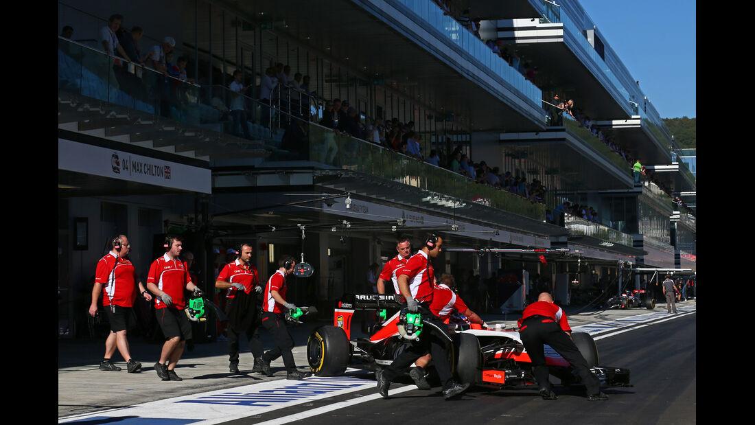 Max Chilton - Marussia - Formel 1 - GP Russland - 11. Oktober 2014
