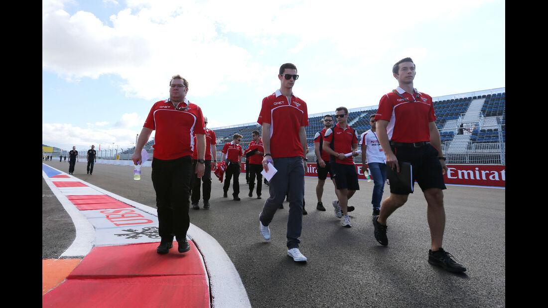 Max Chilton - Marussia - Formel 1 - GP Russland - Sochi - 9. Oktober 2014
