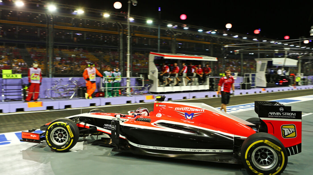 Max Chilton - Marussia - Formel 1 - GP Singapur - 19. September 2014