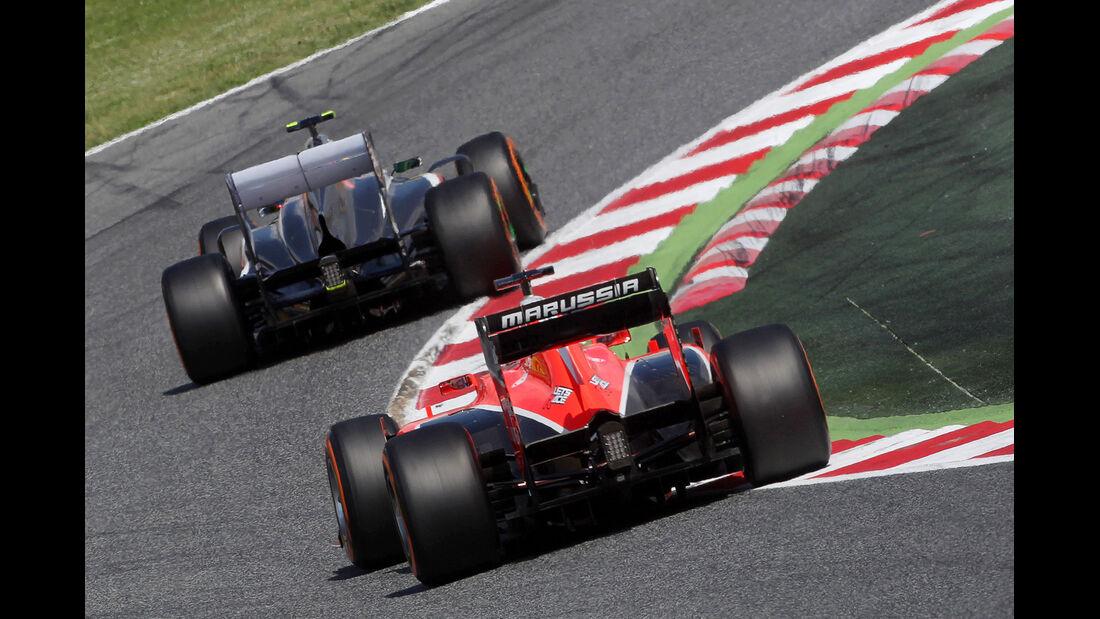 Max Chilton - Marussia - Formel 1 - GP Spanien - 11. Mai 2013