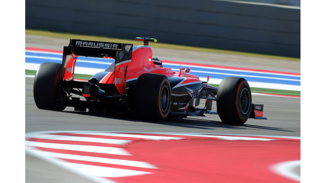 Max Chilton - Marussia - Formel 1 - GP USA - 15. November 2013