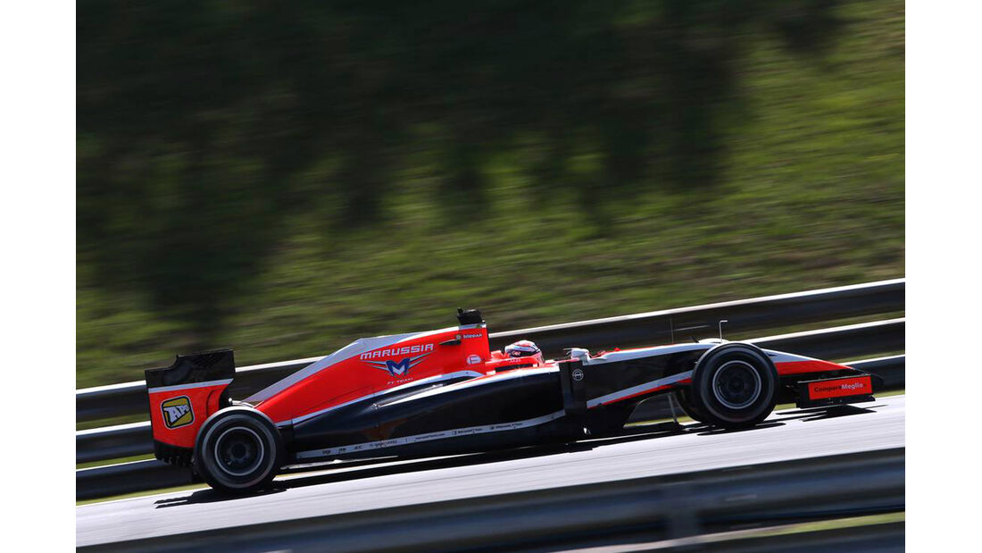 Max Chilton - Marussia - Formel 1 - GP Ungarn - 25. Juli 2014