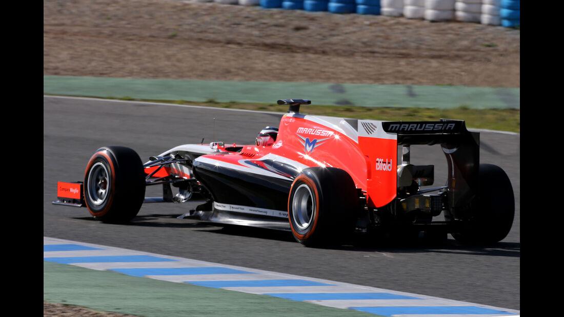 Max Chilton - Marussia - Formel 1 - Jerez - Test - 30. Januar 2014