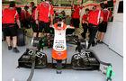 Max Chilton - Marussia - Formel 1 - Test 1 - GP Bahrain 2014