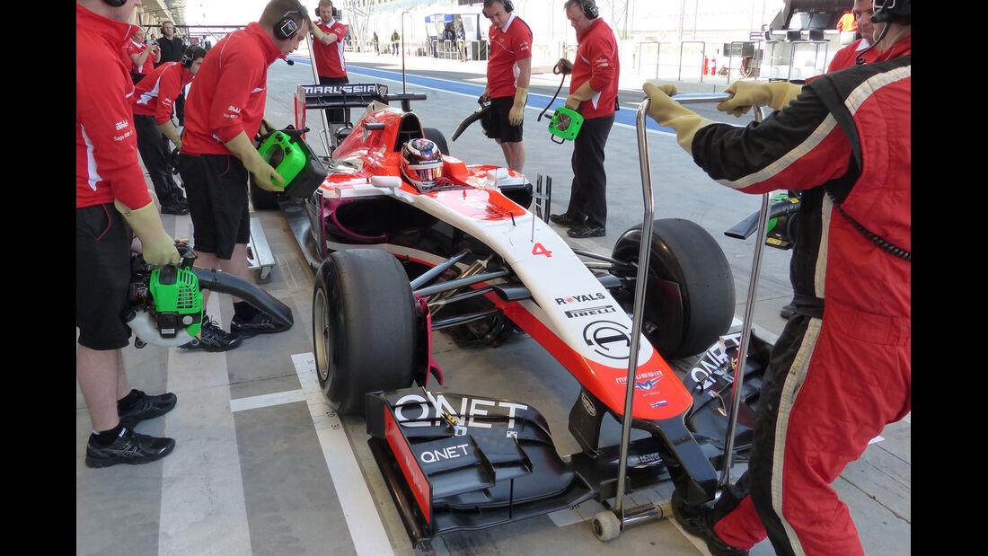 Max Chilton - Marussia - Formel 1 - Test - Bahrain - 21. Februar 2014