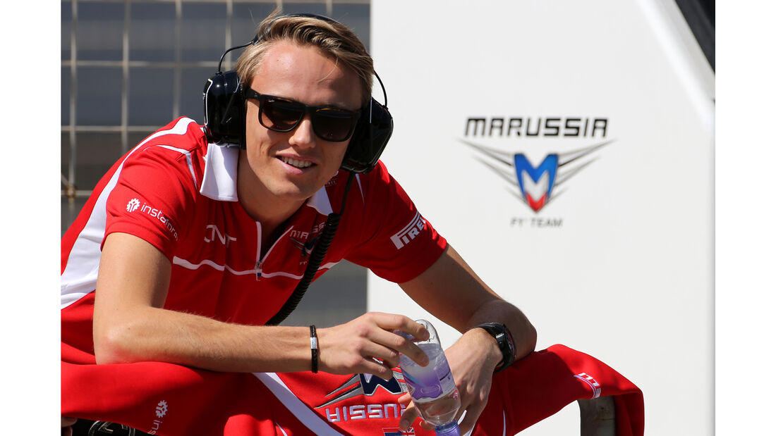 Max Chilton - Marussia - Formel 1 - Test - Bahrain - 22. Februar 2014