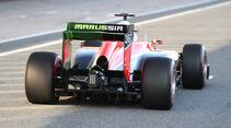 Max Chilton - Marussia - Formel 1 - Test - Jerez - 5. Februar 2013