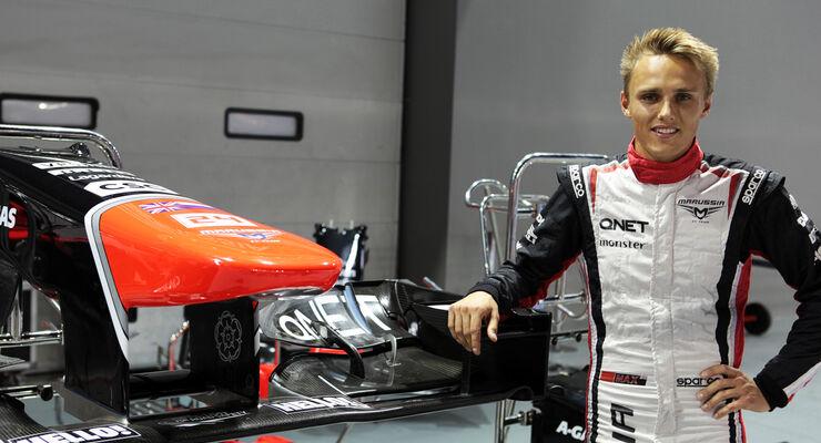 Max Chilton Marussia GP Singapur 2012