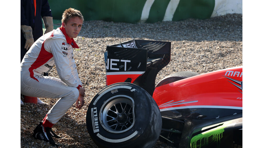 Max Chilton - Test Jerez - 2013