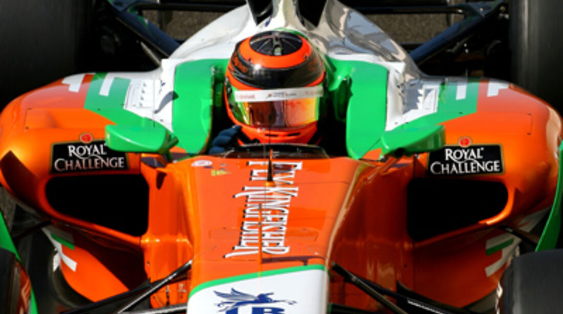 Max Chilton Young Driver Test Abu Dhabi 2011