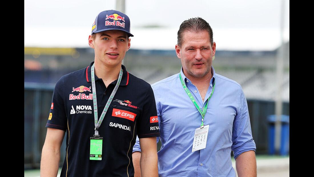 Max & Jos Verstappen - F1 2014