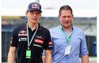 Max & Jos Verstappen - F1 2015