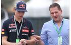 Max & Jos Verstappen - Toro Rosso - Formel 1 - GP Brasilien - 6. November 2014