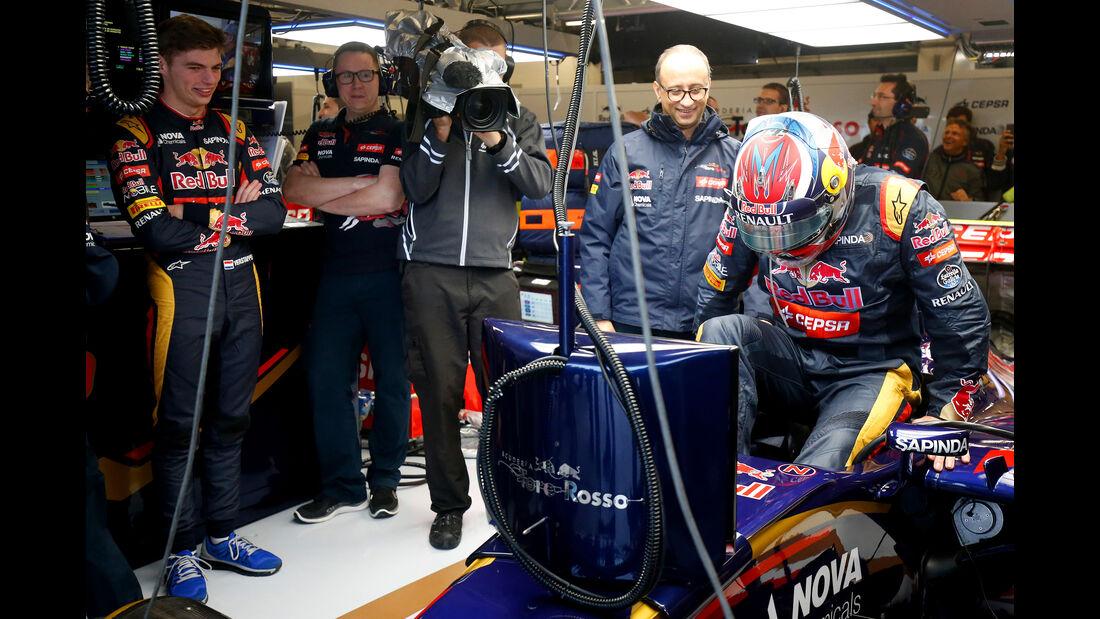 Max & Jos Verstappen - Toro Rosso - Formel 1 - GP USA - Austin - Formel 1 - 24. Oktober 2015
