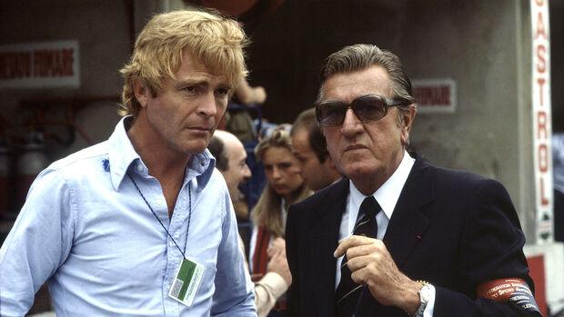 Max Mosley & Jean-Marie Balestre - GP Italien 1981