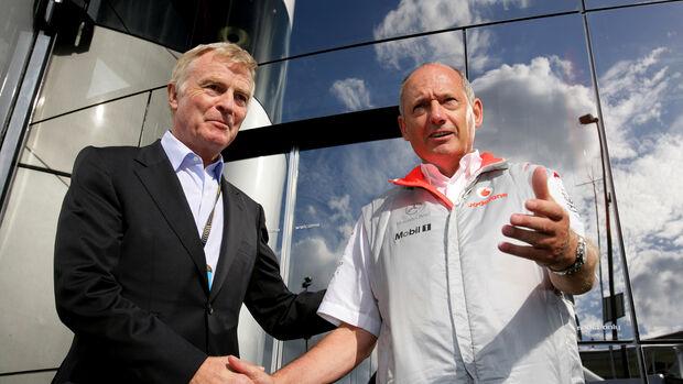 Max Mosley & Ron Dennis - GP Belgien 2007