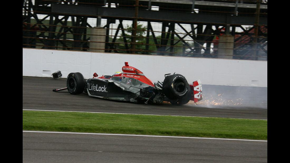 Max Papis - IndyCar-Crash
