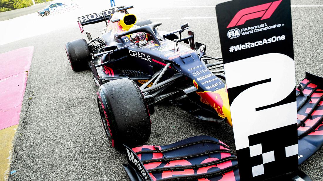 Max Verstapen Red Bull - Formel 1 - GP Spanien 2021 - Barcelona - Rennen