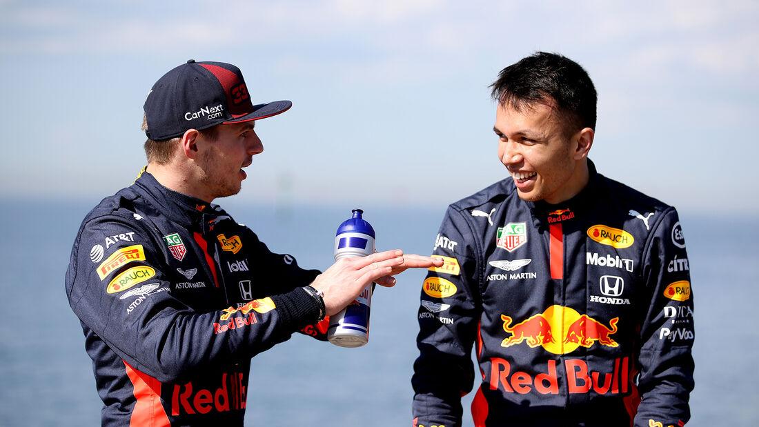 Max Verstappen & Alex Albon - Red Bull - Formel 1 - GP Australien - Melbourne - 11. März 2020