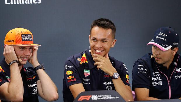 Max Verstappen - Alexander Albon - Sergio Perez - F1 - Formel 1
