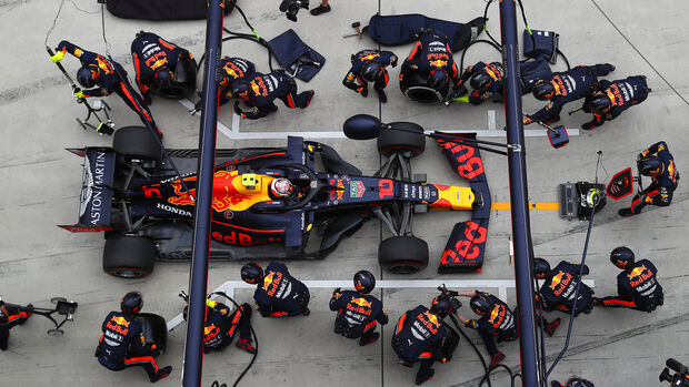 Max Verstappen - Boxenstopp - GP China 2019