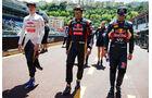Max Verstappen - Carlos Sainz - Daniel Ricciardo - Formel 1 - GP Monaco - Freitag - 22. Mai 2015