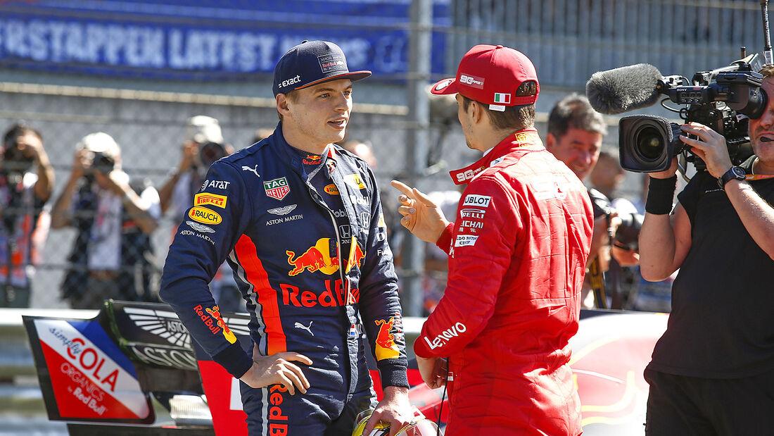Max Verstappen - Charles Leclerc - GP Österreich 2019
