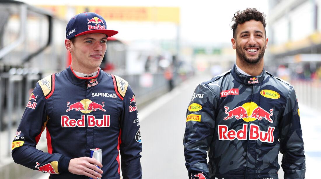 Max Verstappen & Daniel Ricciardo - Formel 1 - 2016