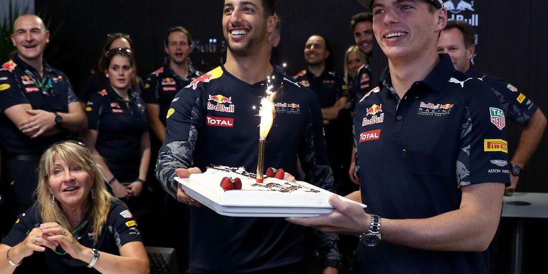 Max Verstappen & Daniel Ricciardo - GP USA 2016