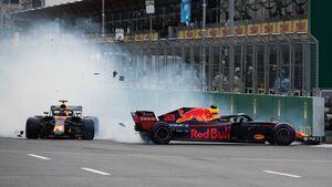 Max Verstappen - Daniel Ricciardo - Red Bull - Formel 1 - GP Aserbaidschan - 29. April 2018