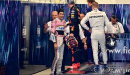 Max Verstappen - Esteban Ocon - GP Brasilien 2018